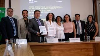 Convenio para fortalecer los derechos cívicos de los adultos mayores en la ciudad, firman SIBISO y el IECM