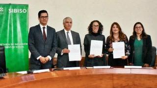 Firman SIBISO y el CIDE un convenio general de colaboración para impulsar la gestión responsable de Gobierno