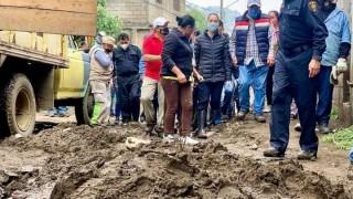 Coordina Jefa de Gobierno atención en pueblos de Topilejo y San Mateo Xalpa por afectaciones de intensas lluvias